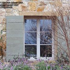 Mediterranean Exterior by Dynamic Garage Door