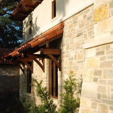 Mediterranean Exterior by Stadler Custom Homes