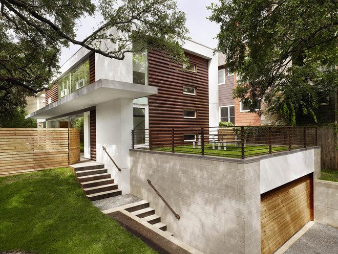 modern exterior by Baldridge Architects