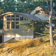 Contemporary Exterior by Bluebird Builders, LLC