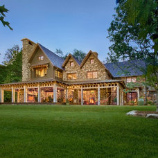 Traditional Exterior by Platt Architecture, PA
