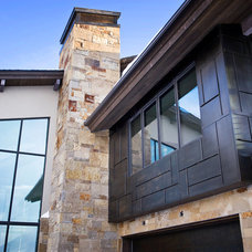 Contemporary Exterior by Sapp Development Group