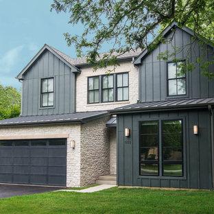 75 Most Popular Farmhouse Chicago Exterior Home Design
