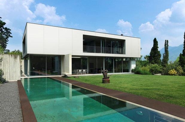 Moderno Fachada by Dekton Australia