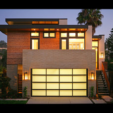 contemporary exterior by Allard Jansen Architect, Inc.