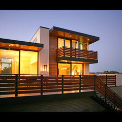contemporary exterior by Allard Jansen Architect