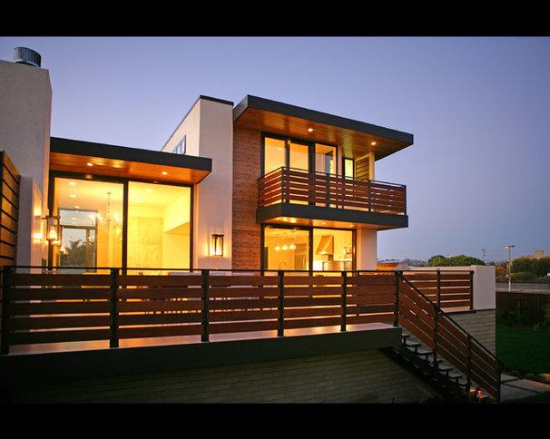 Contemporary Exterior by Allard Jansen Architects, Inc.