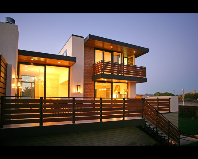 Contemporary Exterior by Allard Jansen Architects, Inc.