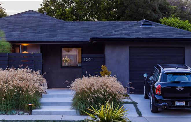 Midcentury Exterior by Lori Smyth Design