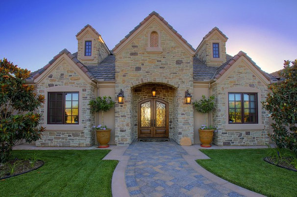 Traditional Exterior by McCullough Design Development Inc