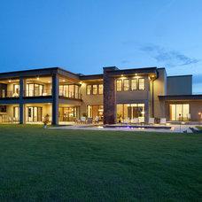 Modern Exterior by Phil Kean Design Group