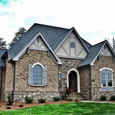 Traditional Exterior by ADAMS DesignBuild, Inc.