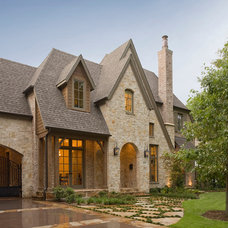 Traditional Exterior by LRO Residential