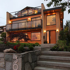 contemporary exterior by VictorEric Design Group