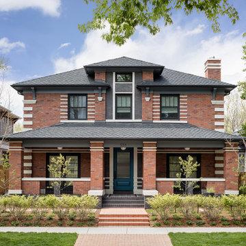 Denver Custom Home - Brick, Classic