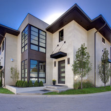 Contemporary Exterior by Teri Fotheringham Photography