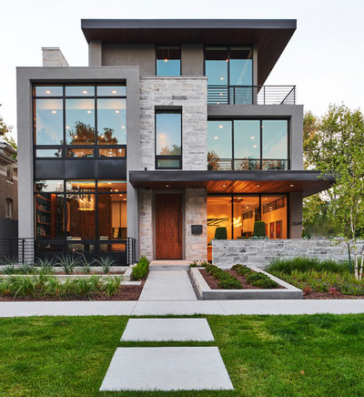 Contemporary Exterior by Materials Marketing
