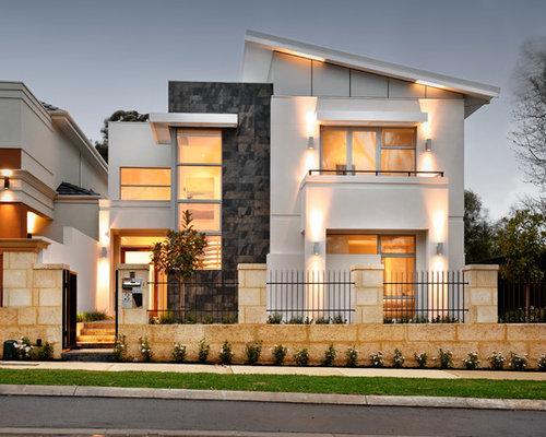 Images de d coration et id es d co de maisons facade villa for Exterieur villa moderne