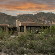 Contemporary Exterior by Soloway Designs Inc.