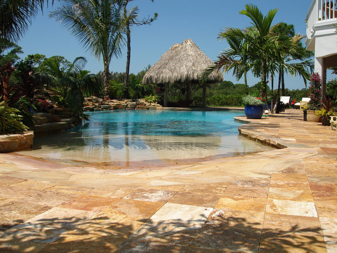 Tropical Exterior by Travertine Warehouse
