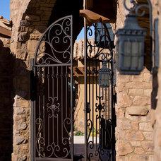 Mediterranean Exterior by Sonoran Classic Builders
