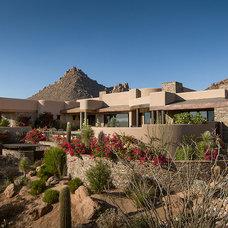 Southwestern Exterior by Kilbane Architecture
