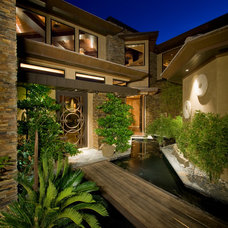 Contemporary Exterior by Pinnacle Architectural Studio