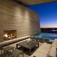 Contemporary Exterior by Kendle Design Collaborative
