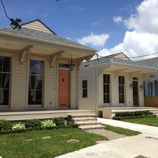 Traditional Exterior by Sun Custom Restoration