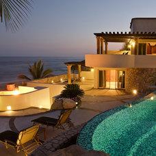 Tropical Exterior by Salina del Mar