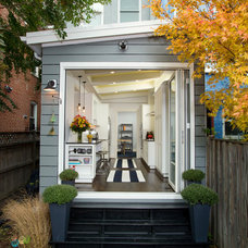 Transitional Exterior by Four Brothers LLC