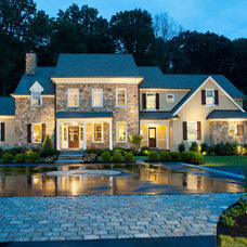 Traditional Exterior by WPL Interior Design