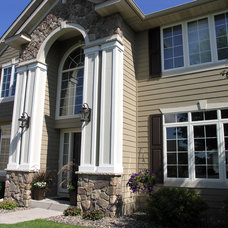 Traditional Exterior by Krech Exteriors