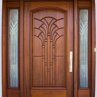 Designer Series Front Door with Decorative Side Glass Panels in Richmond, VA
