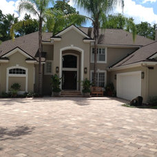 Traditional Exterior by RiverMarsh Design