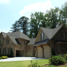 Traditional Exterior by Paragon Construction Services