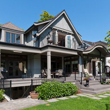 Traditional Exterior by Peter Rose Architecture and Interiors