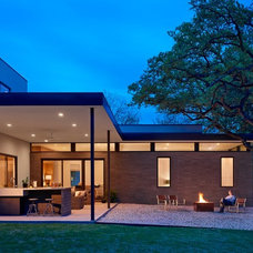 Modern Exterior by Stuart Sampley Architect