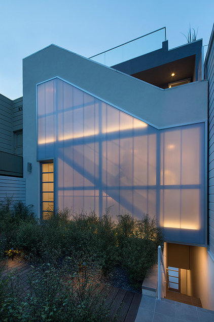 Contemporary Exterior by Doyle McCullar