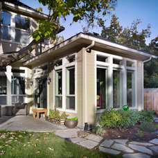 Traditional Exterior by Strite design + remodel