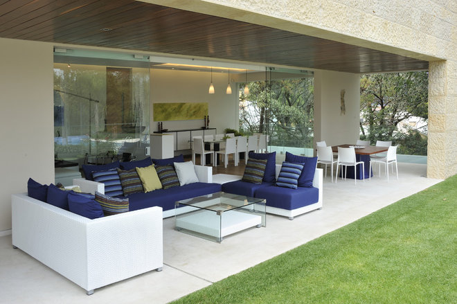 Contemporary Exterior by HABITALY by marcopolo