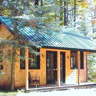diy Tiny House Plans ($50) - Vermont Cottage (Option A) 16x20