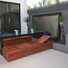 Contemporary Exterior by H2O Designs
