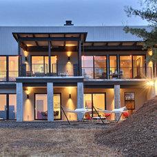 Modern Exterior by Timberlake Custom Homes, LLC