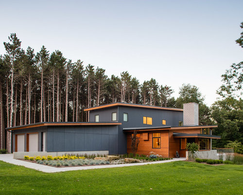 10 Best Contemporary Exterior Home Ideas & Remodeling Pictures | Houzz
