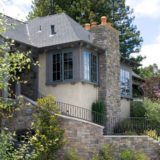 Traditional Exterior by Francis Garcia Architect