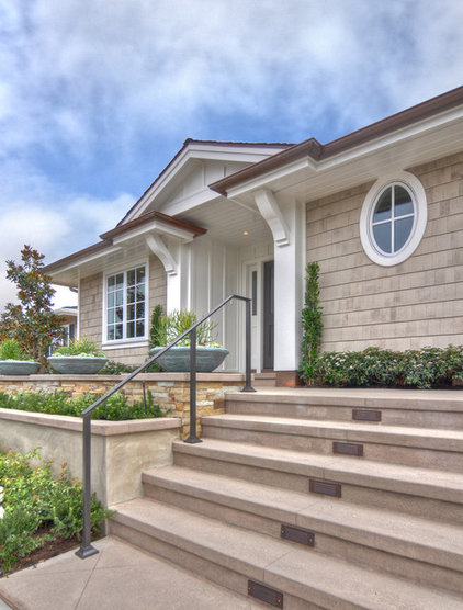 Traditional Exterior by Details a Design Firm