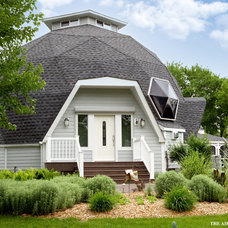 Eclectic Exterior by Airoom Architects-Builders-Remodelers