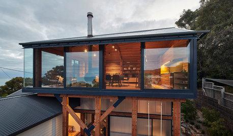 Houzz Австралия: Пляжный домик с новой надстройкой