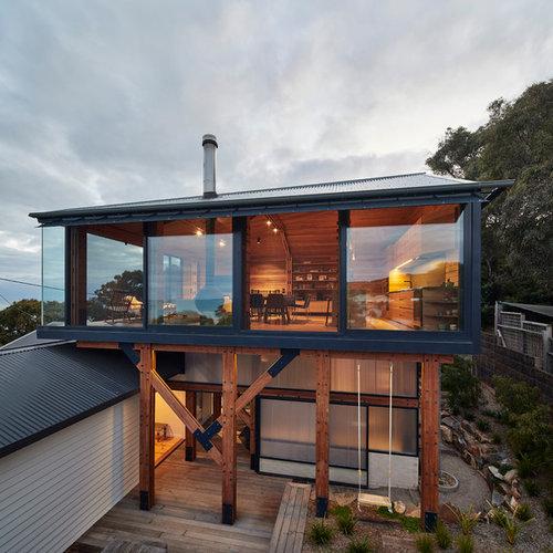 our 50 best exterior home ideas photos houzz. Black Bedroom Furniture Sets. Home Design Ideas